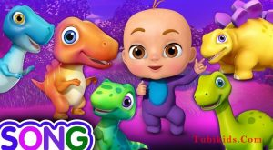 Five Little Dinos Went Out One Day Dinosaur Rhymes for Kids ChuChu TV 3D Nursery Rhymes amp Songs 300x165 - Five Little Dinos Went Out One Day - Dinosaur Rhymes for Kids | ChuChu TV 3D Nursery Rhymes & Songs