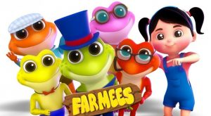 Five Little Speckled Frogs Songs For Babies by Farmees 300x165 - Five Little Speckled Frogs   Songs For Babies by Farmees
