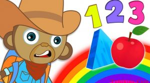 Learn Colors Shapes and Numbers with Mango The Explorer Funny Monkey by HooplaKidz 300x165 - Learn Colors Shapes and Numbers with Mango The Explorer | Funny Monkey by HooplaKidz