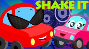 Shake It Song Little Red Car Cartoons For Kids 300x165 - Shake It Song | Little Red Car | Cartoons For Kids
