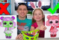 3 Markers Challenge Melissa and Daddy coloring pictures 200x137 - 3 Markers Challenge / Melissa and Daddy coloring pictures