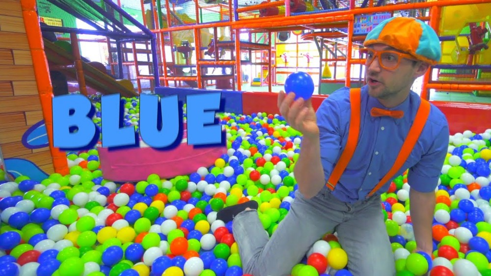 Blippi at the Play Place and Learn Colors Compilation Safe Educational Videos for Children - Blippi at the Play Place and Learn Colors Compilation | Safe Educational Videos for Children