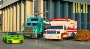 Florence the Ambulance and Ross the Race Car Real City Heroes RCH Videos for Children 300x165 - Florence the Ambulance and Ross the Race Car - Real City Heroes (RCH) | Videos for Children