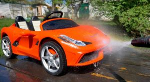 Funny Baby Artur washing red Car Ferrari Ride on Power wheels by Melliart 300x165 - Funny Baby Artur washing red Car Ferrari Ride on Power wheels by Melliart