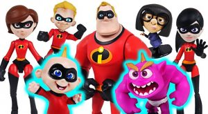 Giant Ogre appeared Disney Incredibles 2 transform Jack Jack and family Go DuDuPopTOY 300x165 - Giant Ogre appeared! Disney Incredibles 2 transform Jack-Jack and family! Go! - DuDuPopTOY