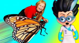 Incredibles 2 Assistant Shrinks and Rides Butterfly with PJ Masks Romeo 300x165 - Incredibles 2 Assistant Shrinks and Rides Butterfly with PJ Masks Romeo