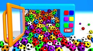 Learn Colors With Soccer Balls for Children Kids with Microwave 300x165 - Learn Colors With Soccer Balls for Children, Kids with Microwave