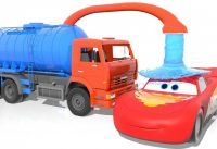 Learn Colors with Lightning Mcqueen Under Rain Washed by Water Truck p Cars 3 Change Tyres for Kid 200x137 - Learn Colors with Lightning Mcqueen Under Rain Washed by Water Truck, #p Cars 3 Change Tyres for Kid