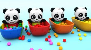 Learn Colors with Little Baby Panda Bath Time w Colors Balls for Kids w Nursery Rhymes Songs 300x165 - Learn Colors with Little Baby Panda Bath Time w Colors Balls for Kids w Nursery Rhymes Songs