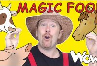 Magic Food Animal Farm Story with Steve and Maggie Learning Speaking Wow English TV Free 200x137 - Magic Food Animal Farm Story with Steve and Maggie | Learning Speaking Wow English TV Free