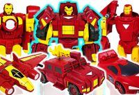 Marvel Avengers Transformers Iron Man the three musketeers Defeat the dinosaurs DuDuPopTOY 200x137 - Marvel Avengers Transformers Iron Man the three musketeers! Defeat the dinosaurs! - DuDuPopTOY
