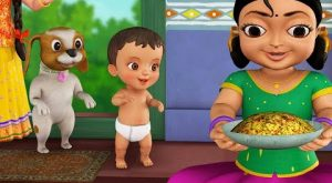 Mota Ranir kahini Bengali Rhymes for Children Infobells 300x165 - Mota Ranir kahini | Bengali Rhymes for Children | Infobells