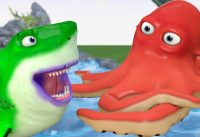 SHARK Baby Learn Colors with Octopus Giant Cartoon 3D Colors for Children 200x137 - SHARK Baby Learn Colors with Octopus Giant Cartoon 3D Colors for Children