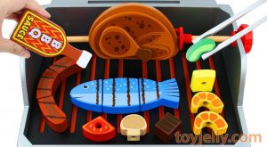 Velcro Cutting BBQ Grill Toy Learn Fruits amp Vegetables Baby Toys kKinder Surprise Eggs for Kids 300x165 - Velcro Cutting BBQ Grill Toy Learn Fruits & Vegetables Baby Toys kKinder Surprise Eggs for Kids