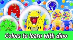maxresdefault 219 300x165 - [EN] Colors for children to learn with dinosaurs! animals animation, dino for kidsㅣCoCosToy
