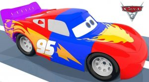 3D Animation Colorful Lightning Mcqueen Painted by Spiderman Learn Colors For Toddlers Funny Story 300x165 - 3D Animation Colorful Lightning Mcqueen Painted by Spiderman Learn Colors For Toddlers Funny Story
