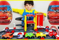 Cars Toys Surprise Eggs Opening on the Race Track 200x137 - Cars Toys Surprise Eggs Opening on the Race Track