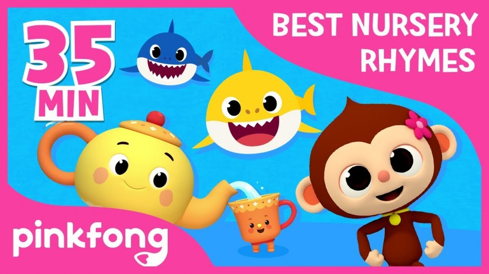 FIve Little Monkeys and more Best Nursery Rhymes Compilation Pinkfong Songs for Children - FIve Little Monkeys and more   Best Nursery Rhymes   +Compilation   Pinkfong Songs for Children