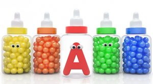 Learn ABC and Colors with Baby Milk Bottles for Kids 300x165 - Learn ABC and Colors with Baby Milk Bottles for Kids