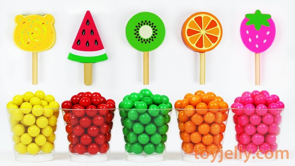 Learn Colors Microwave Gumballs Candy Kinder Surprise Eggs Kinder Joy Popsicle Ice Cream Fruit Toys - Learn Colors Microwave Gumballs Candy Kinder Surprise Eggs Kinder Joy Popsicle Ice Cream Fruit Toys