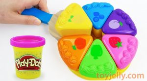 Learn Colors Play Doh Fruits Cake Velcro Cutting Toys with Microwave Oven Kids Toy Baby Finger Song 300x165 - Learn Colors Play Doh Fruits Cake Velcro Cutting Toys with Microwave Oven Kids Toy Baby Finger Song