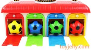 Learn Colors with Soccer Balls Kinder Surprise Eggs Tayo the Little Bus Station Garage Toy Playset 300x165 - Learn Colors with Soccer Balls Kinder Surprise Eggs Tayo the Little Bus Station Garage Toy Playset