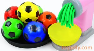 Learn Colors with Surprise Soccer Balls and Play Doh Pasta Spaghetti Maker Toy Baby Songs for Kids 300x165 - Learn Colors with Surprise Soccer Balls and Play Doh Pasta Spaghetti Maker Toy Baby Songs for Kids