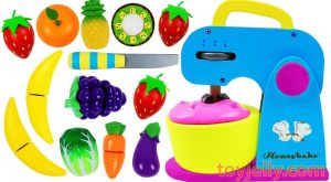 Learn Fruits amp Vegetables with Toy Mixer Playset amp Wooden Velcro Cutting Toys for Kids Preschoolers 300x165 - Learn Fruits & Vegetables with Toy Mixer Playset & Wooden Velcro Cutting Toys for Kids Preschoolers