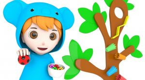 Little Baby Learn Colors with Soccer Balls 3D Wooden Tree Slider Toy for Children 300x165 - Little Baby Learn Colors with Soccer Balls 3D Wooden Tree Slider Toy for Children