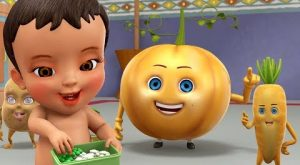 My Vegetable Friends Bengali Rhymes for Children Infobells 300x165 - My Vegetable Friends | Bengali Rhymes for Children | Infobells