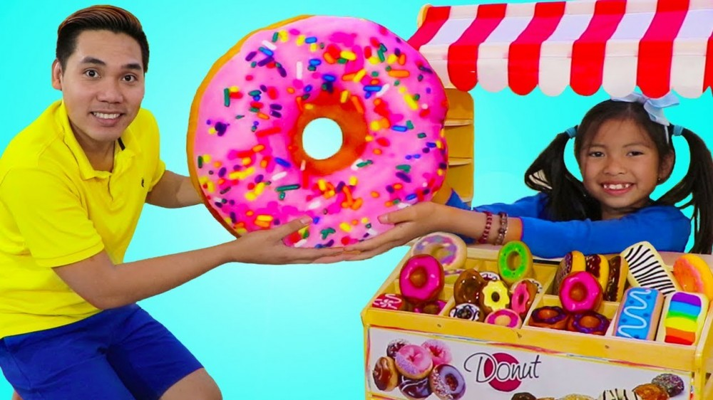Wendy Pretend Play with Donut Bakery Shop Pretend Food Toys - Wendy Pretend Play with Donut Bakery Shop Pretend Food Toys